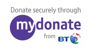 Donate securely through MyDonate