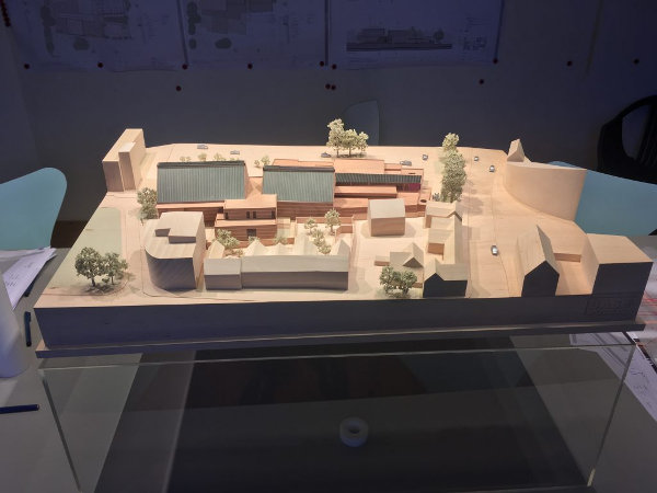 Image of model of The Hold